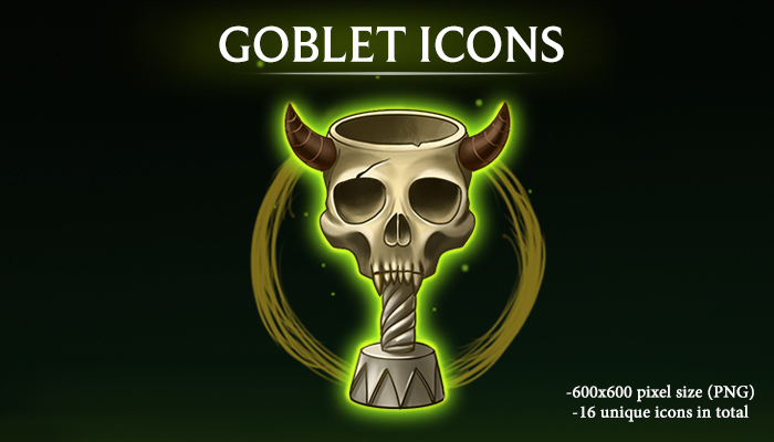 Goblet Icons