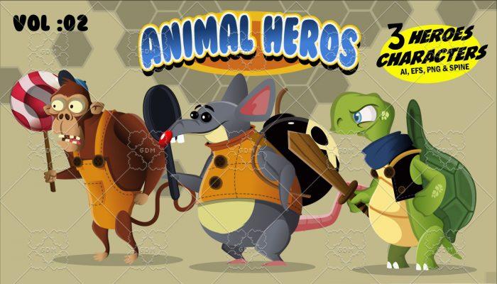 Animal Heroes Vol: 02