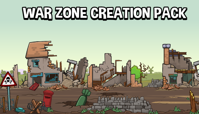 War zone scene creation pack