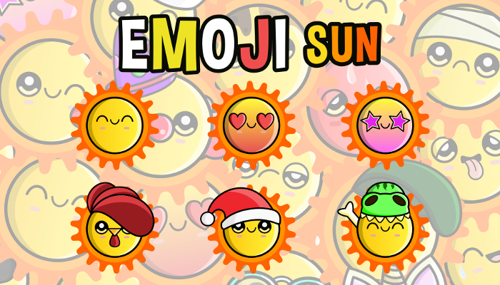 Emoji Emotion Sun Faces