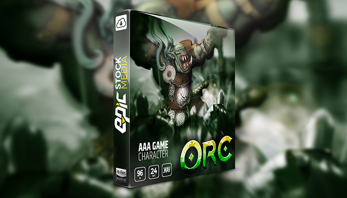 AAA Game Character Orc