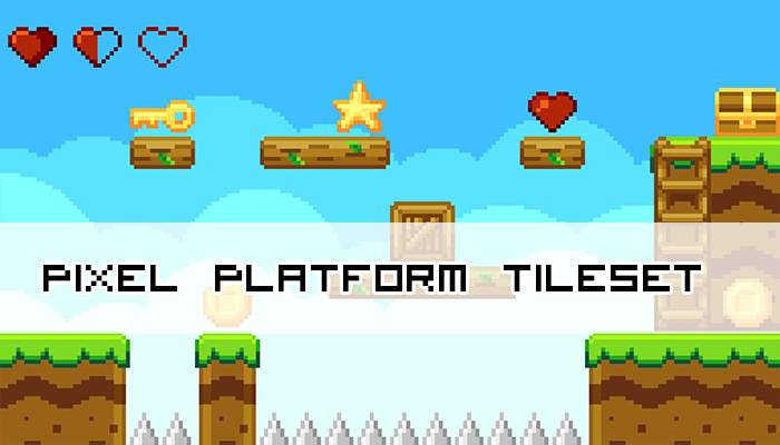 Pixel Platform Tileset