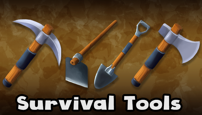 Survival Tool Icons