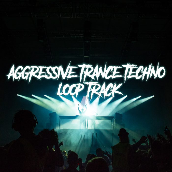 Aggressive trance/techno loop track for boss fights in arcade games