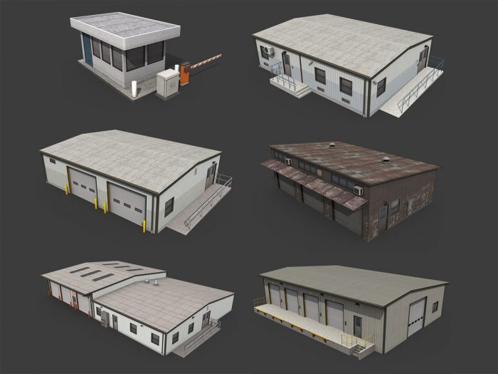 Industrial Buildings Pack