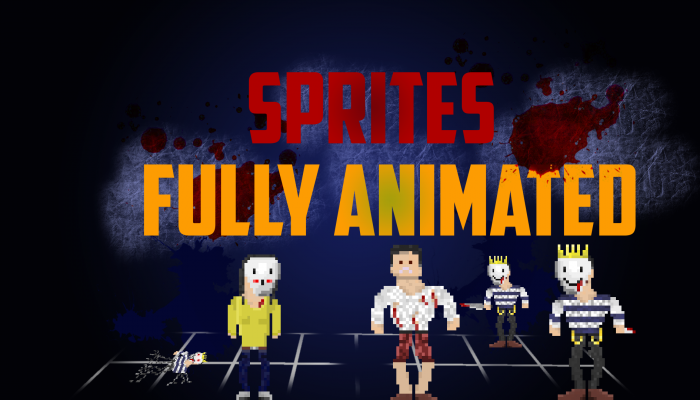 HORROR ASSETS FULLY ANIMATED