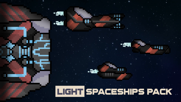 LIGHT SPACESHIPS PACK