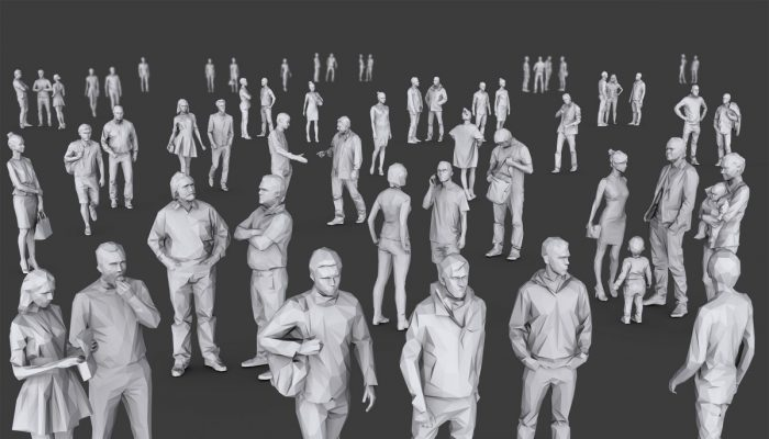 Complete Lowpoly People Pack Volume 1