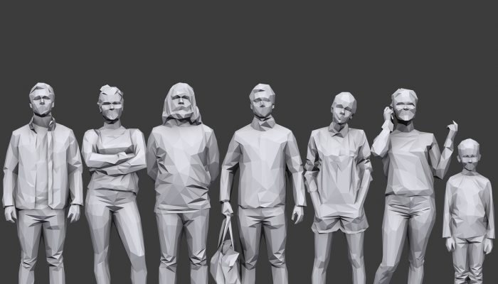 Lowpoly People Casual Pack Volume 15