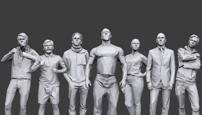Lowpoly People Casual Pack Volume 14