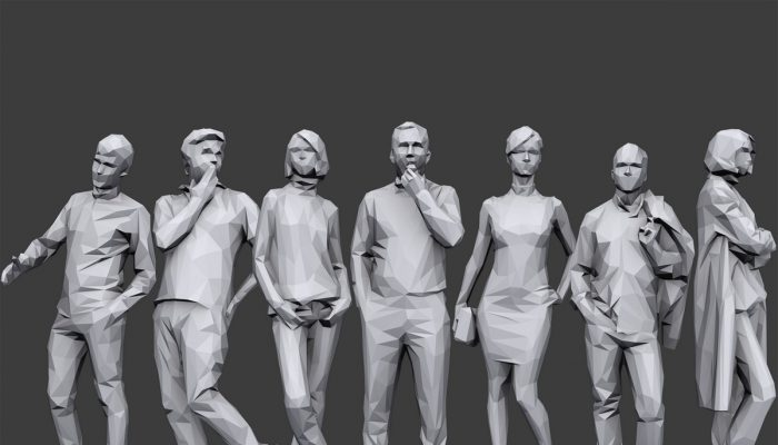 Lowpoly People Casual Pack Volume 5