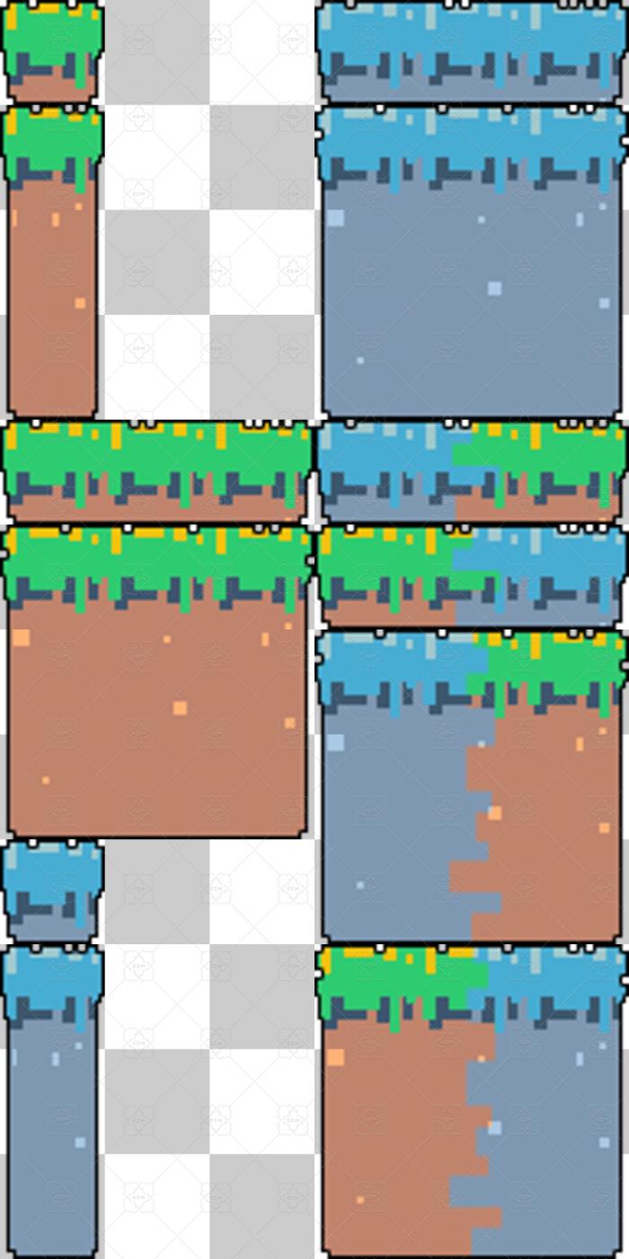 Jump and Run Tiles