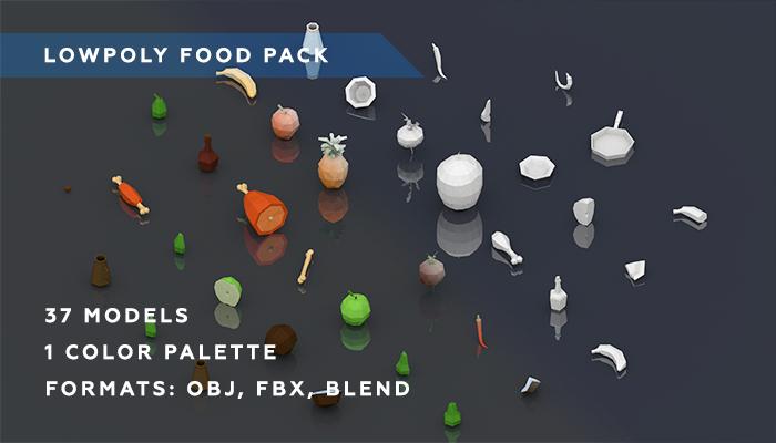 Polygonal Food Pack
