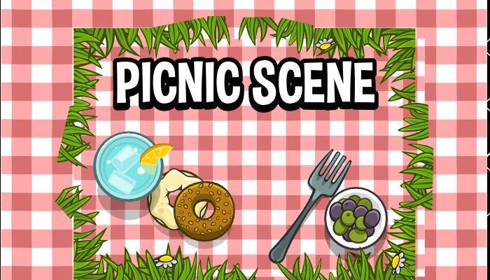 Picnic scene creation pack