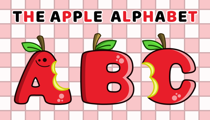 Assets For Children´s Games – The Apple Alphabet (ENG-SPAN.)