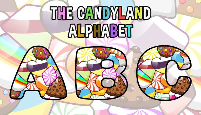 Assets For Children´s Games – The Candyland Alphabet (ENG-SPAN.)