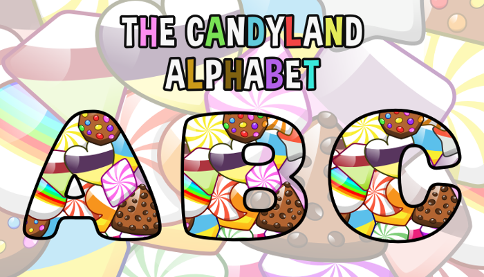 Assets For Children´s Games – The Candyland Alphabet (ENG-SPAN.)