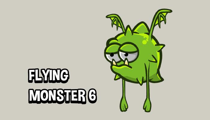 Flying monster 6