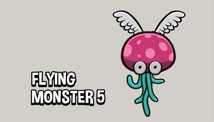 Flying monster 5