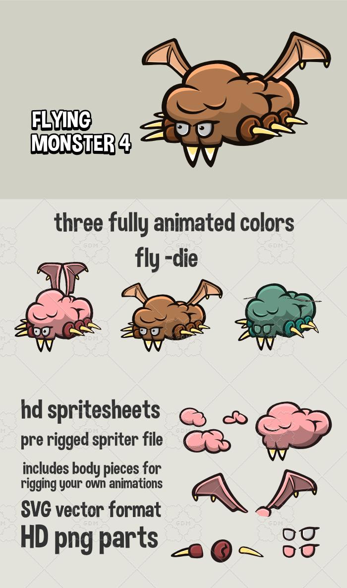 Flying monster 4