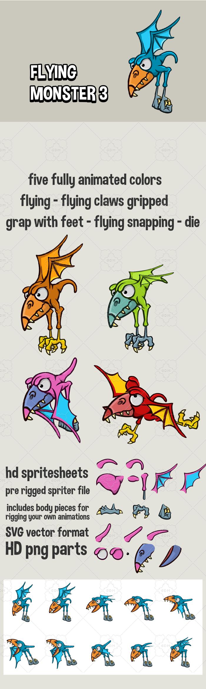 Flying monster 3