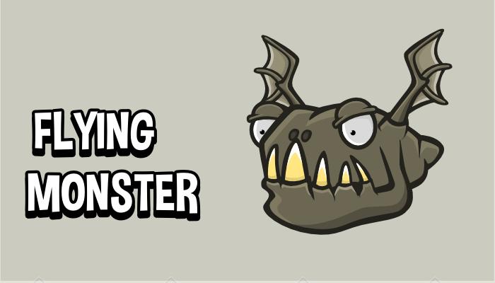 Flying monster