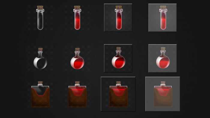 Simple Potion Icons