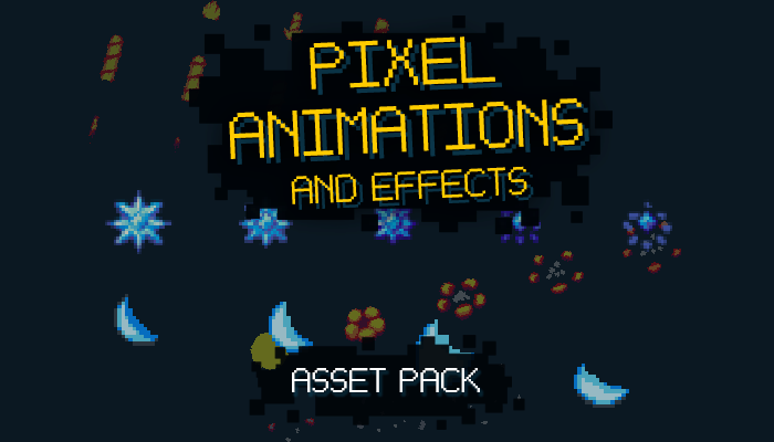 Pixel Animations and Effects Pack