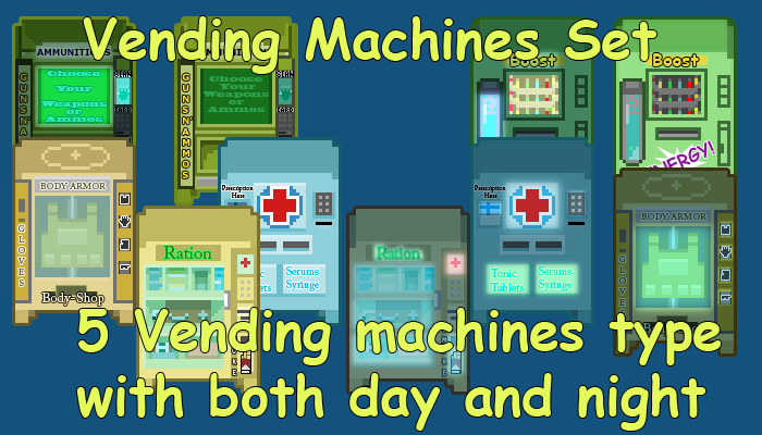 Zombie/War Vending Machines