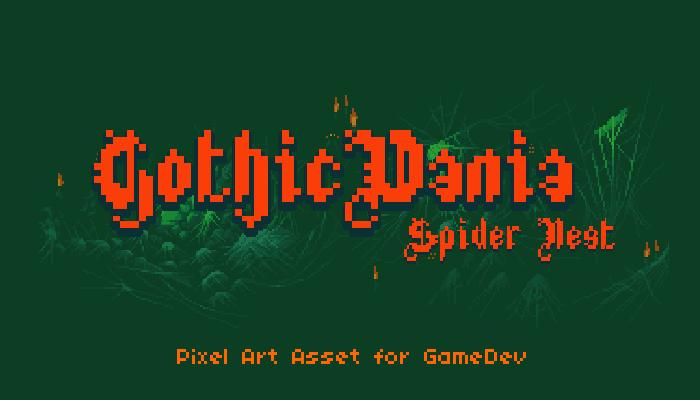 GothicVania Spider Nest