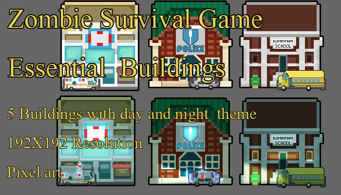 Zombie SURVIVAL ESSENTIAL BUILDING PACK