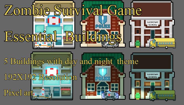 Zombie SURVIVAL ESSENTIAL BUILDING PACK