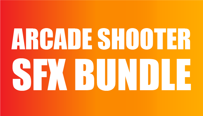 Arcade Shooter SFX Bundle