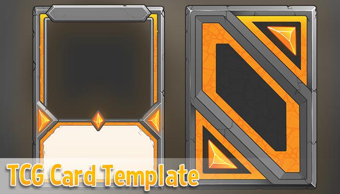 TCG Card Template