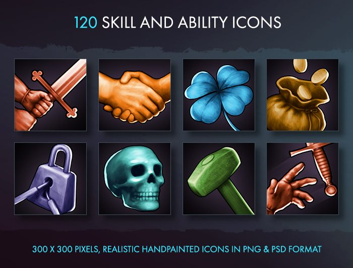 Skill And Ability Icons