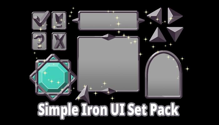 Simple Iron UI Set Pack