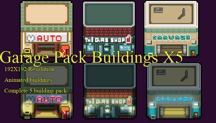 Auto_Services_BuildingsPack