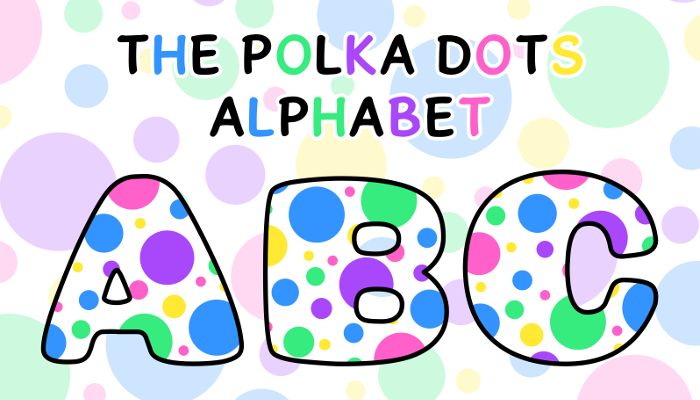 Assets For Children´s Games – The Polka Dots Alphabet (ENG-SPAN.)