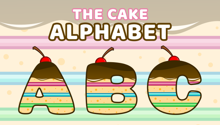 Assets For Children´s Games – The Cake Alphabet (ENG-SPAN.)