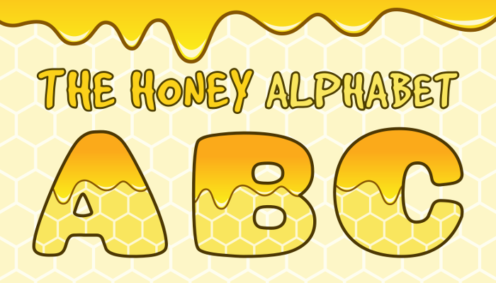 Assets For Children´s Games – The Honey Alphabet (ENG-SPAN.)