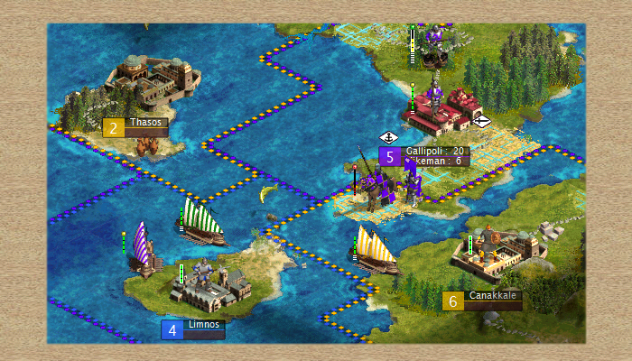 Five medieval city sets