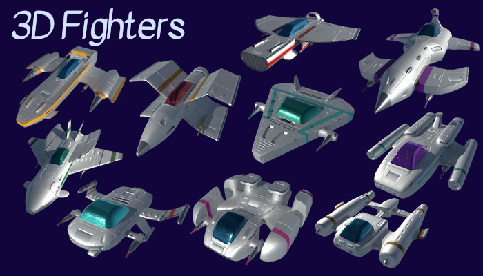 3d space fighters