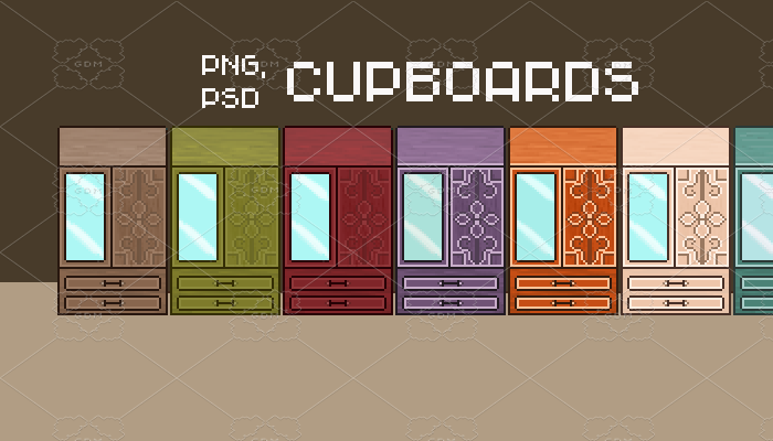 Cupboards for RPG games