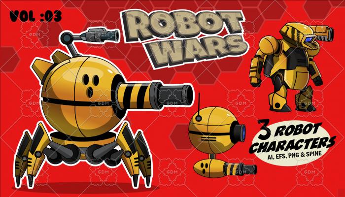 Robot Wars Character Sprite Vol: 03