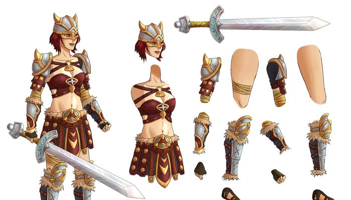 Warrior_Famele_Lv2