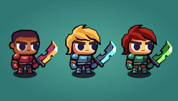 Hero Knight – 2D Platformer Character Sprites