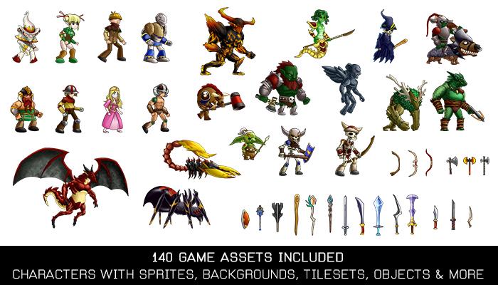 Fantasy Creatures Game Kit