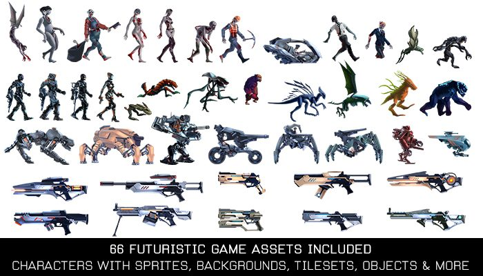 Futuristic Invasion Game Kit