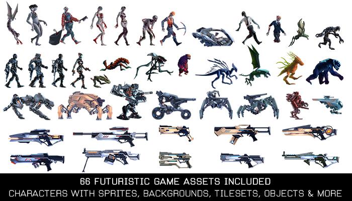 Futuristic Invasion Game Kit