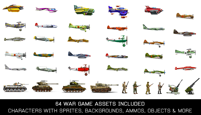 War Assets Game Kit